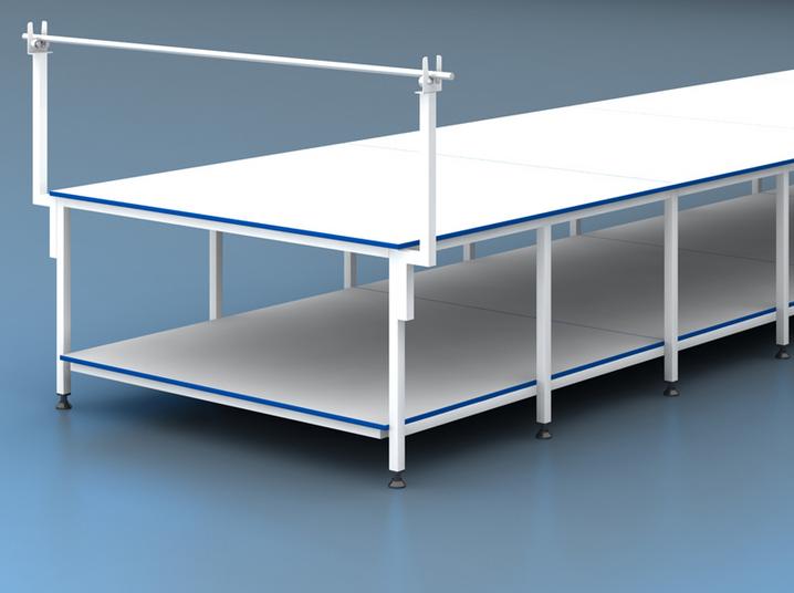 Serim Masası Altı ve Konsol Başlıklı Altlı En 180 cm