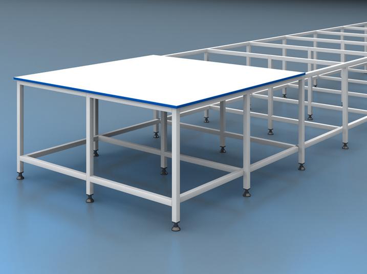 Serim Masası Altsız En 205 cm