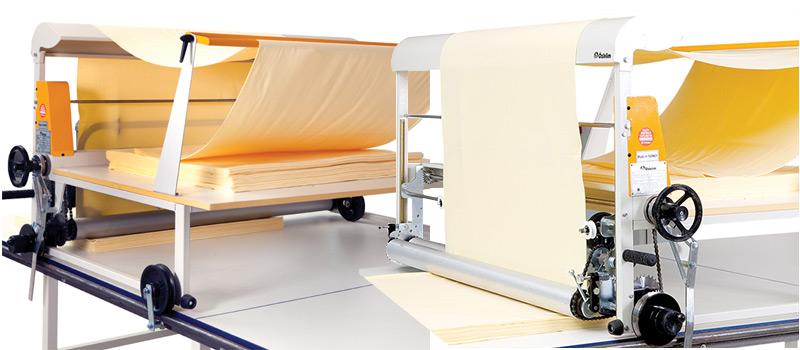 tüp kumaş serme makinası